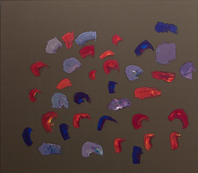 "Oleksiy Koval, ""Peperoni"", 2010, 140 x 160 cm, oil on polyester. Photo © Klaus Mauz"