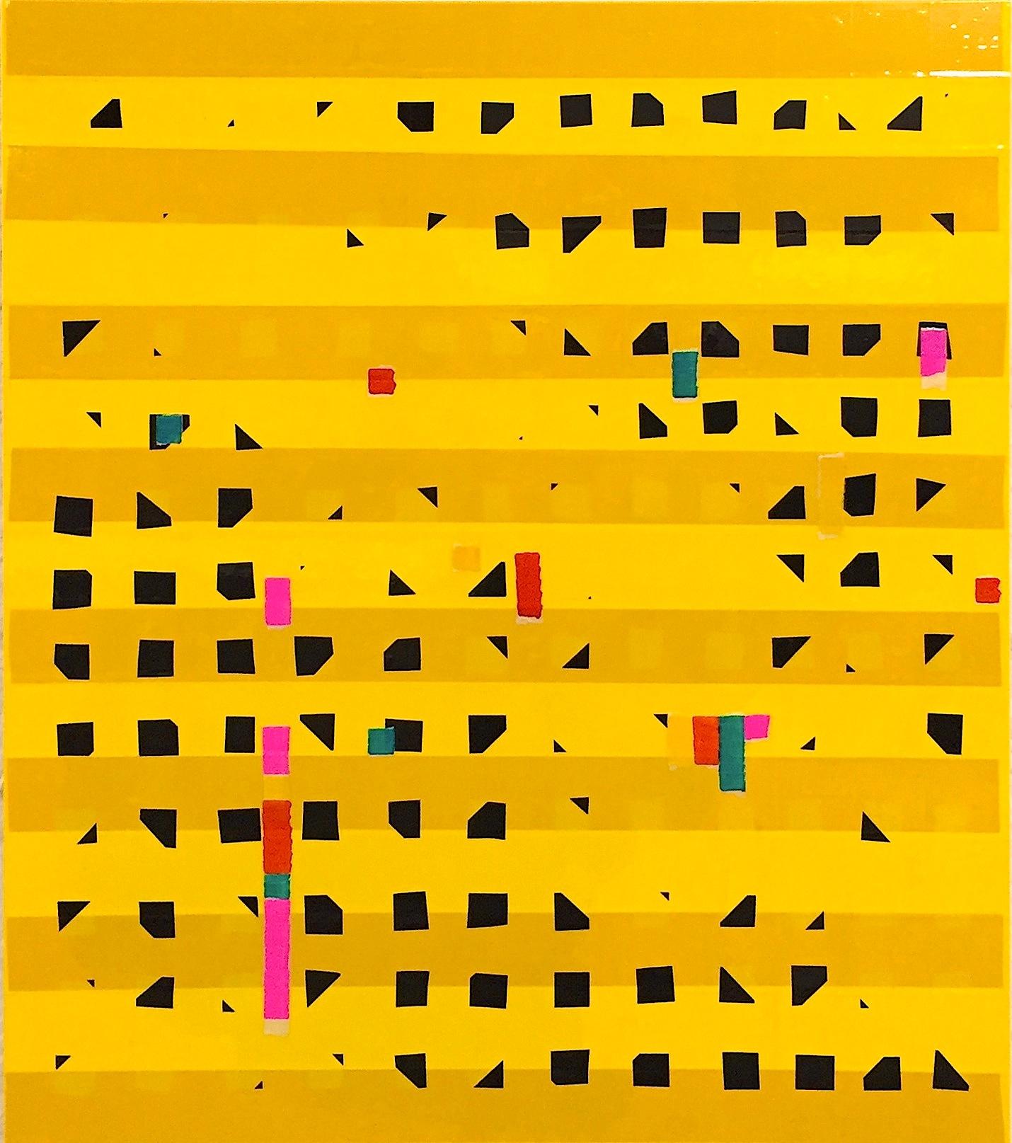 Funktor Oleksiy Koval, 2015 70 x 60 cm, marker, tape on FPY Photo © Klaus Mauz