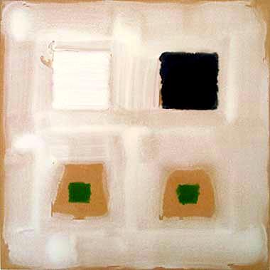 """Oleksiy Koval, """"Ogiya"""", 2002, acrylic on MDF, 60 x 60 cm"""