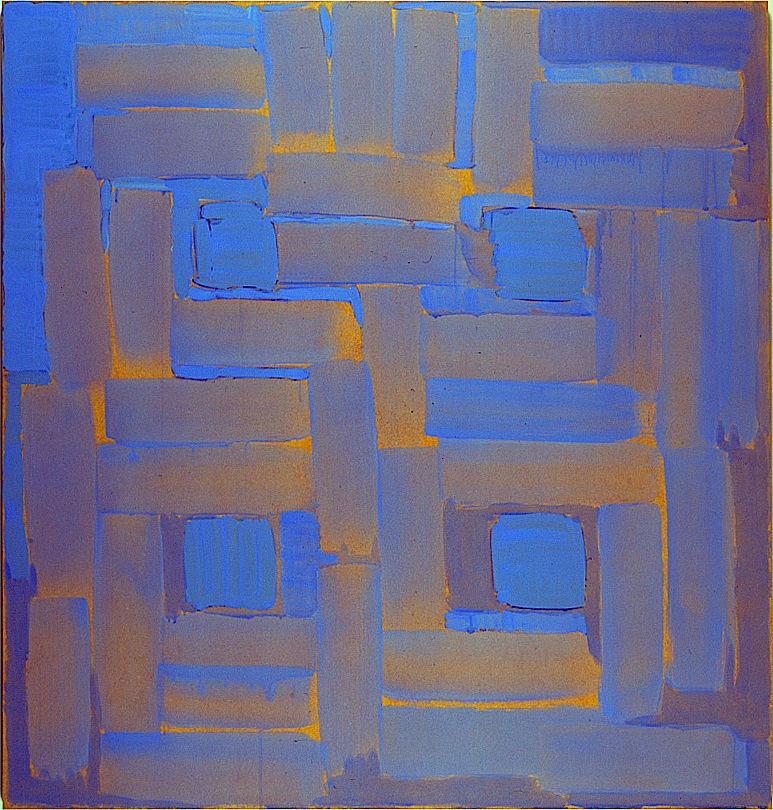 Oles Oleksiy Koval, 2004 132 x 127 cm, acrylic on MDF Photo © Antje Hanebeck