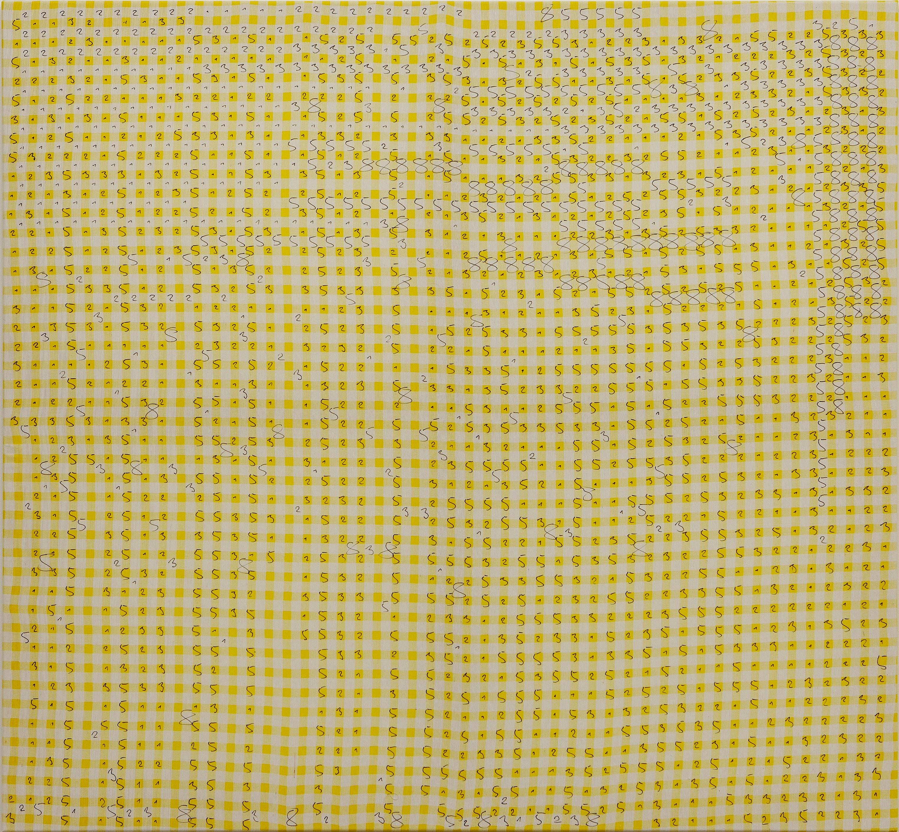 Patapum...! Patapum...! Patapum...! Oleksiy Koval, 2015 130 x 140 cm, marker on cotton Photo © Klaus Mauz