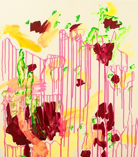 """GAU"", Mixed Media on FPY, 80 x 70 cm, 2012. Daniel Geiger, Stefan Schessl, Veronika Wenger, Pascal Worsch. Photo © Daryna Deineko-Kazmiruk"
