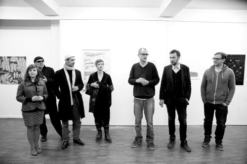 RHYTHM SECTION, LW 44, 2013 Yuliia Koval, Herbert Rometsch, Stefan Schessl, Veronika Wenger, Kuros Nekouian, Oleksiy Koval,  Petros Sianos. Foto © Anna Drabinski