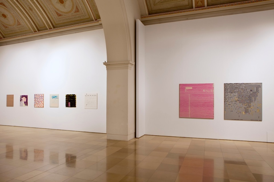 Oleksiy Koval, Rhythm & Method, Galerie der Künstler, Munich. Photo © Klaus Mauz.