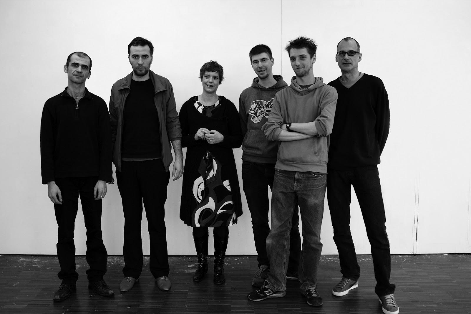 The Beautiful Formula Collective, 2012 Stefan Schessl, Oleksiy Koval,Veronika Wenger, Pascal Worsch, Daniel Geiger, Kuros Nekouian Picture: LW44
