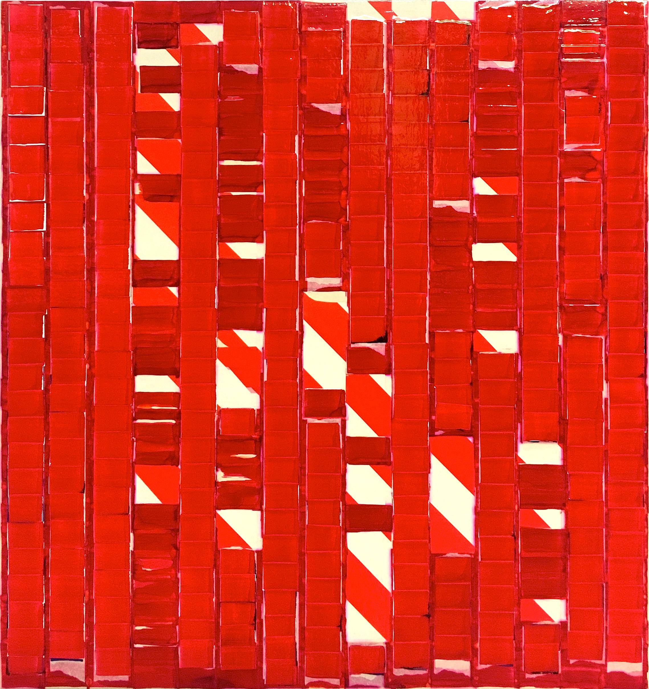 Sublunare Welt Oleksiy Koval, 2014 - 18 80 x 75 cm, tape, ink, marker on MDF