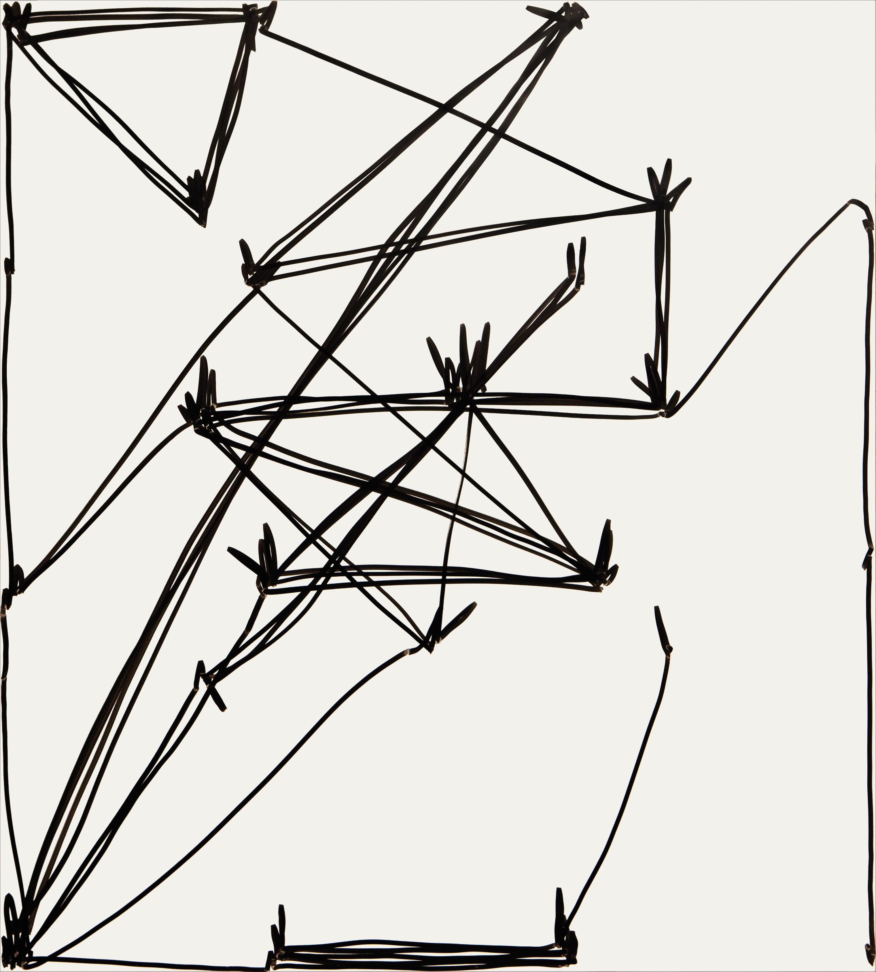 Fliege Oleksiy Koval, 2016 100 x 90 cm, marker on FPY Photo © Klaus Mauz
