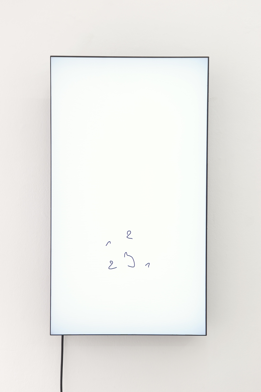 "1, 1, 2, 2, 3 Oleksiy Koval, 2018 HD,NEC X462UN 46"" Karin Wimmer Contemporary Art, Munich"