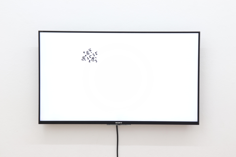 1, 5, 2, 3, 8 Oleksiy Koval, 2018 Full HD,Sony KBL 43 Karin Wimmer Contemporary Art, Munich  Photo © Rhythm Section