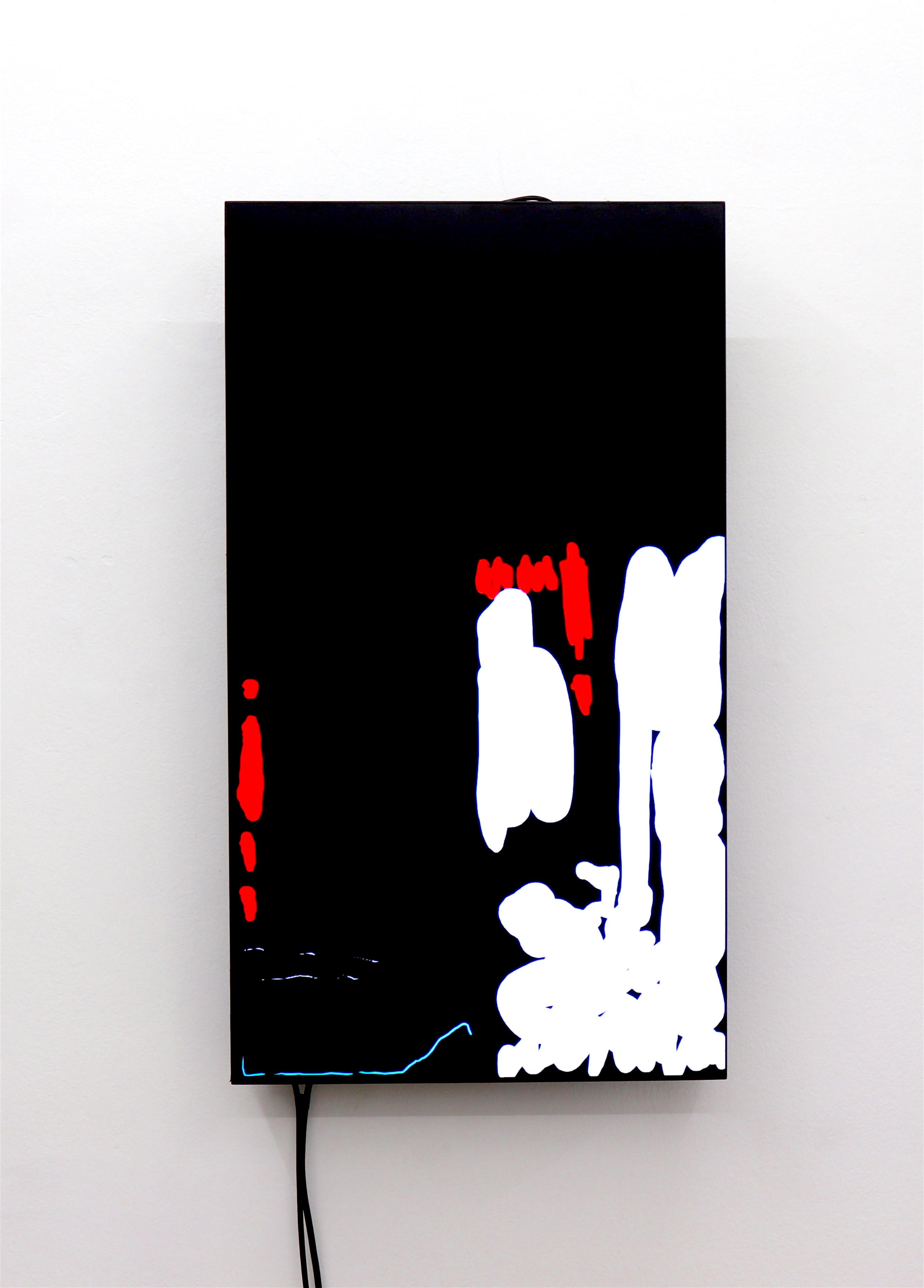 "Fixer The Beautiful Formula Collective, 2018 Michael Gene Aichner, Daniel Geiger, Oleksiy Koval, Veronika Wenger HD, NEC X462UN 46"" Karin Wimmer Contemporary Art, Munich"