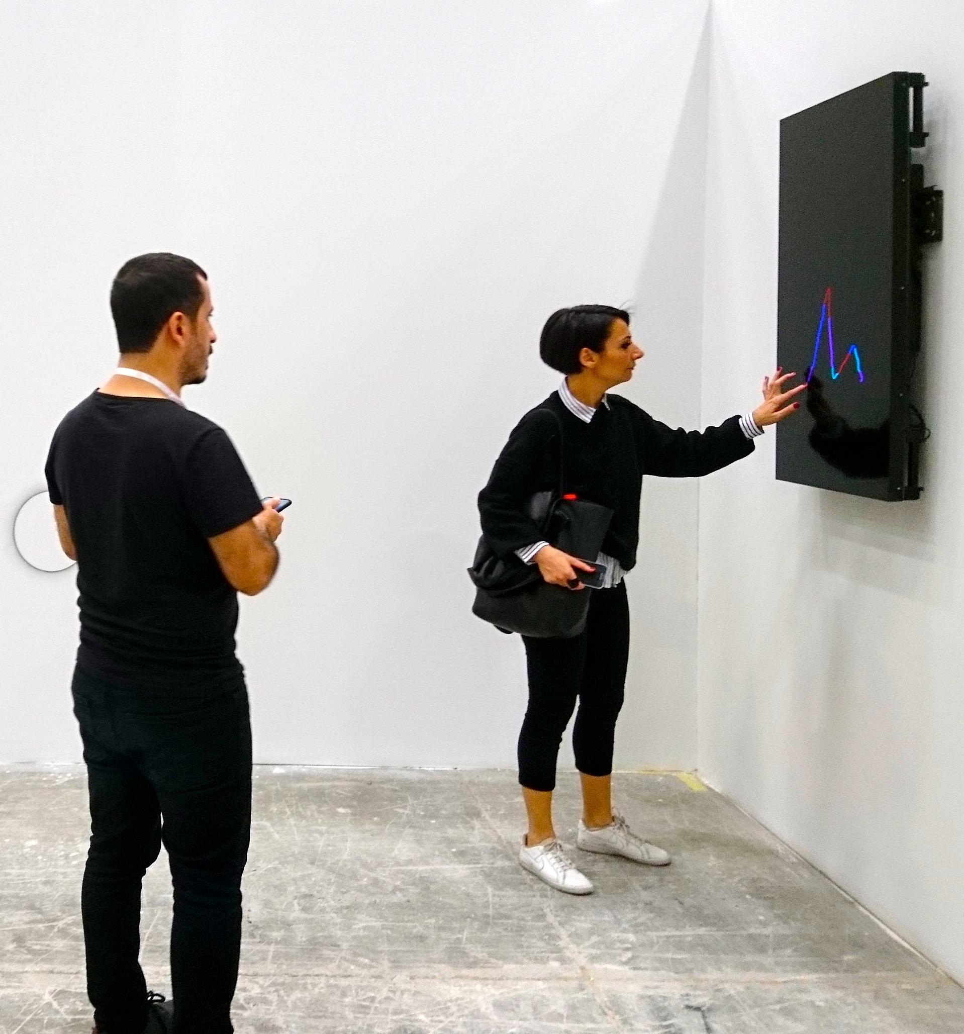 "Venus Oleksiy Koval, 2018 Full HD, LG 47"" Art Fair Tüyap 2018, Istanbul"