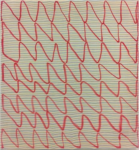 Tau Oleksiy Koval, 2019 65 x 60 cm, marker on cotton