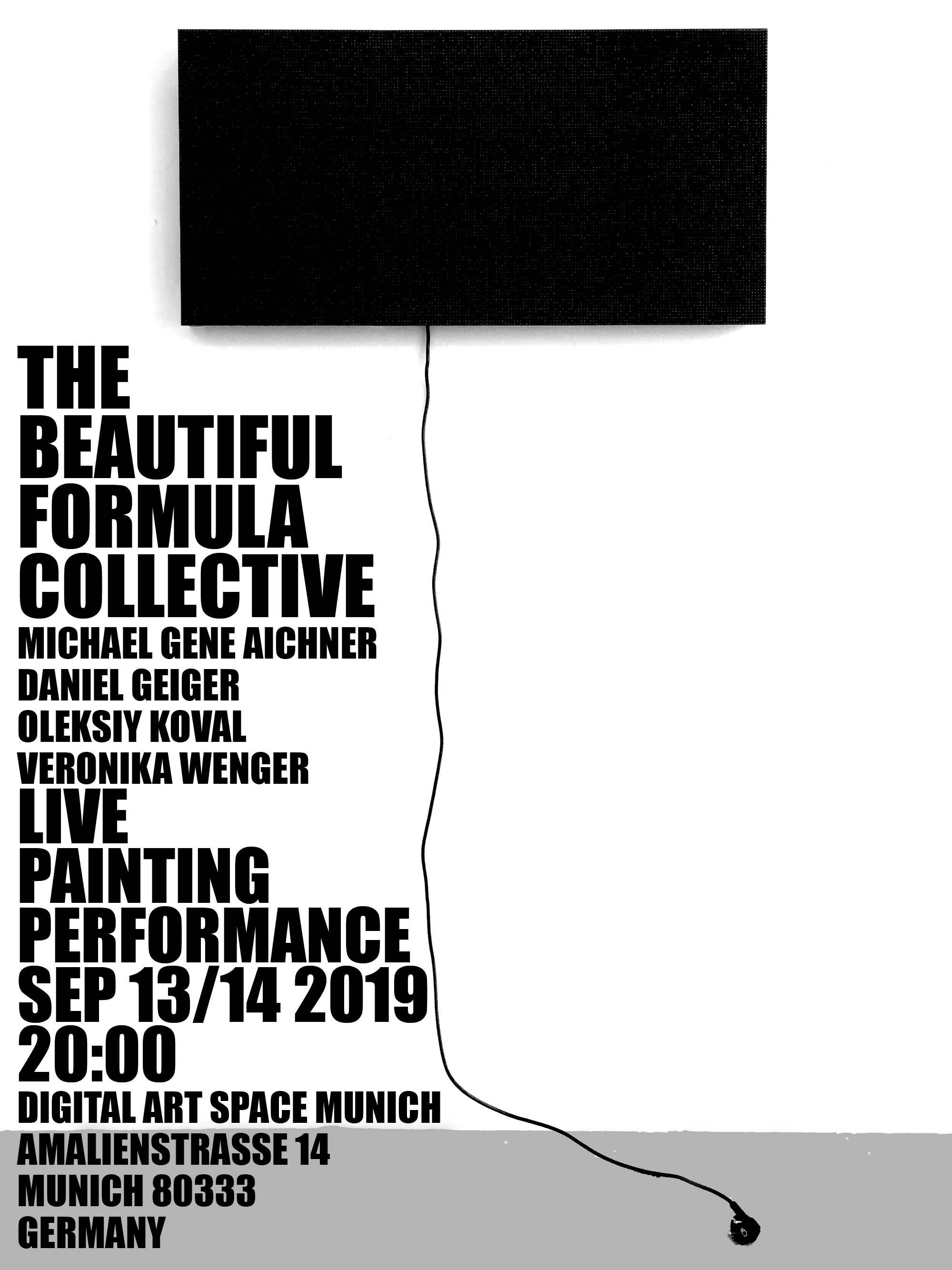 The Beautiful Formula Collective LIVE PAINTING PERFORMANCE