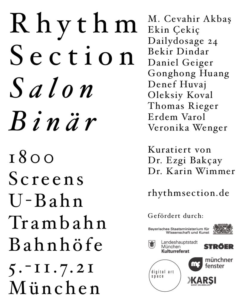 Rhythm Section Salon Binär